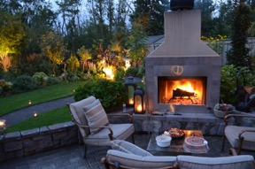 patio and fire
