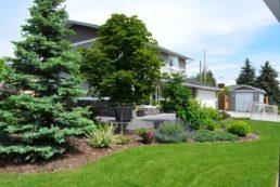 Front Yard Custom Landscaping Edmonton and Sherwood Park