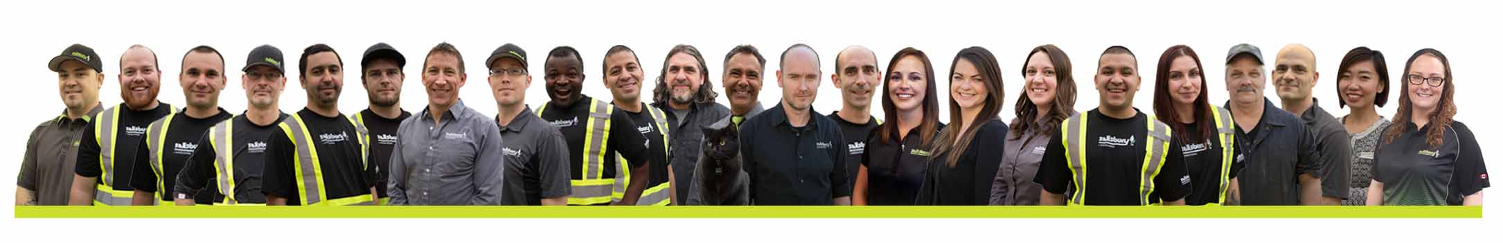 Group image of Salisbury Landscaping staff