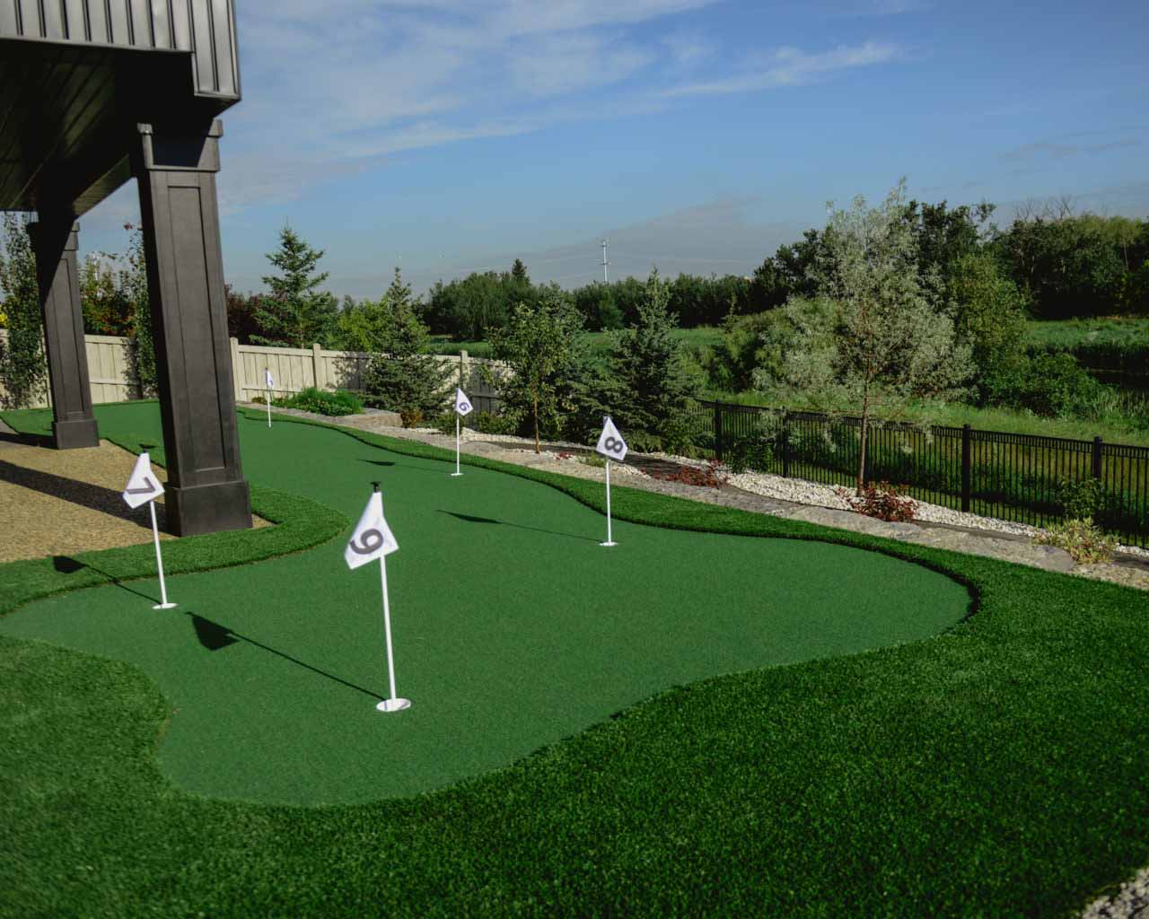 Custom Golf Turf Design Edmonton