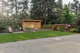 Beautiful Backyard Custom Landscape Design by Salisbury Landscaping