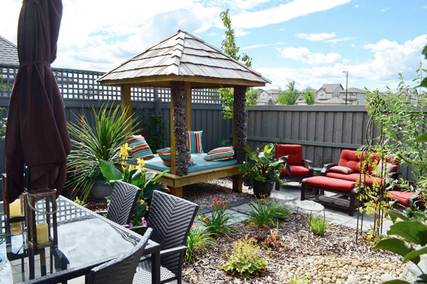 Summer Patio Backyard Ideas For Landscaping - Salisbury Landscaping Project