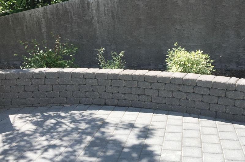Retaining Wall Salisbury Landscaping Edmonton