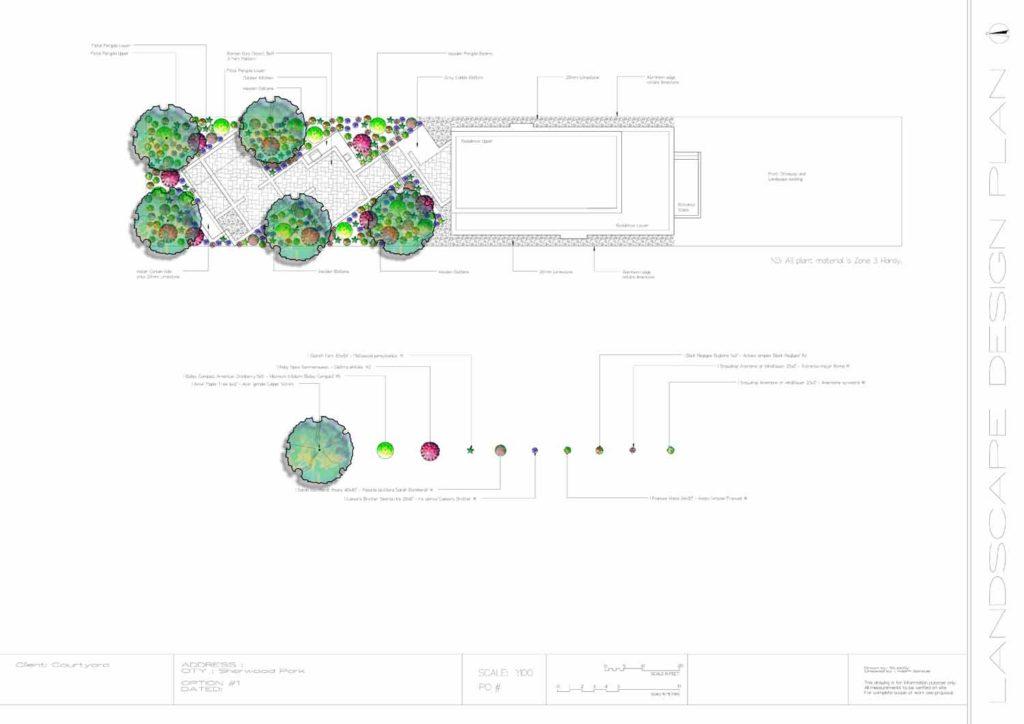 landscaping blueprint design Salisbury Landscaping Edmonton