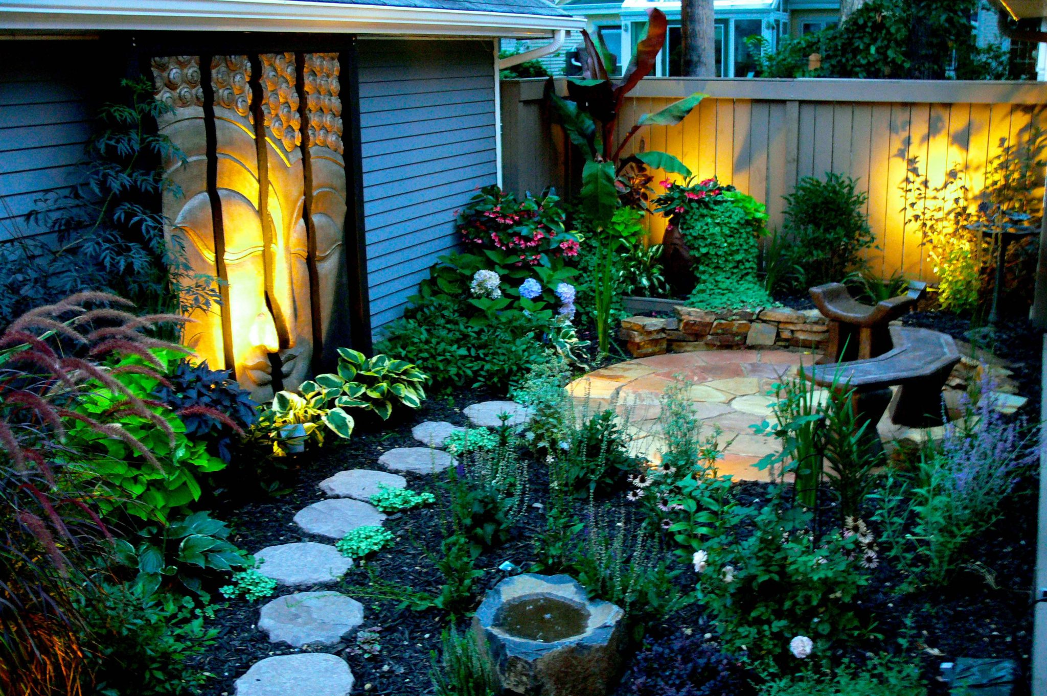 enhancing any outdoor space with lighting