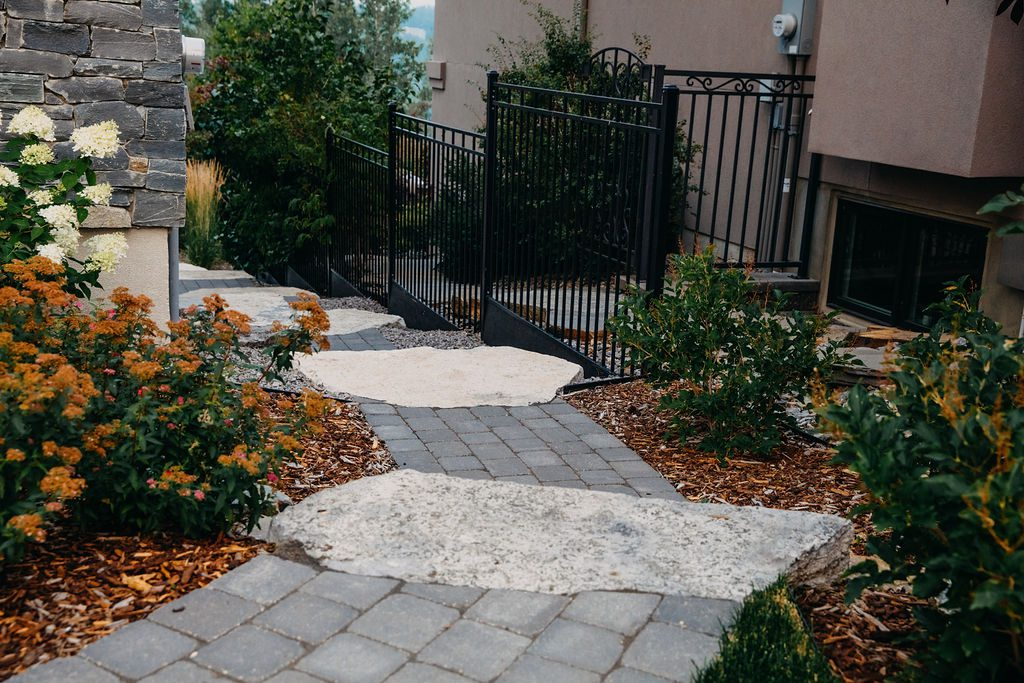 Woodward Cres Landscape Design by Andreas Lietz of Salisbury Landscaping