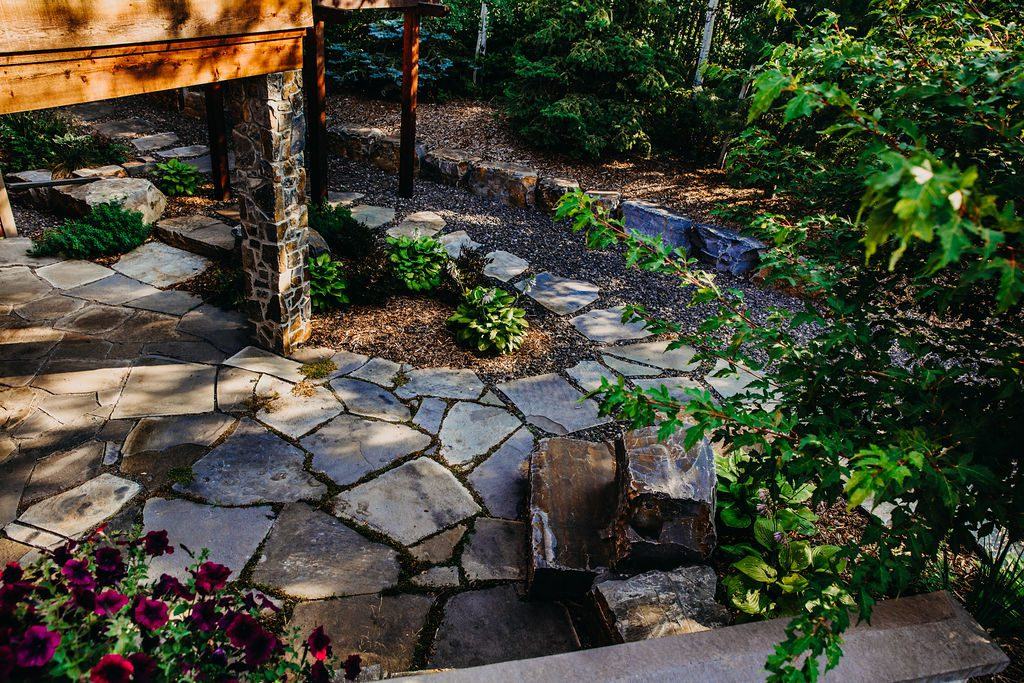 Boag Lake Landscape Design by Salisbury Landscaping