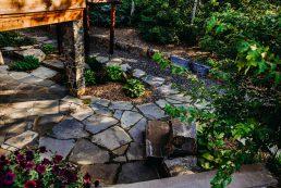 Boag Lake Landscape Design by Salisbury Landscaping