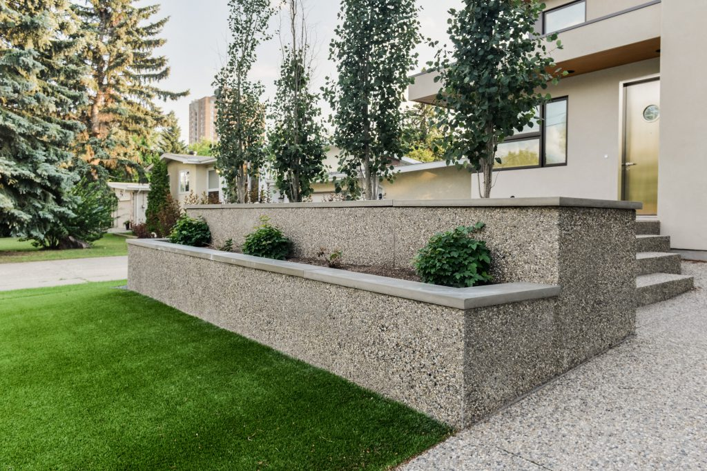 Infill Landscape Design by Salisbury Landscaping