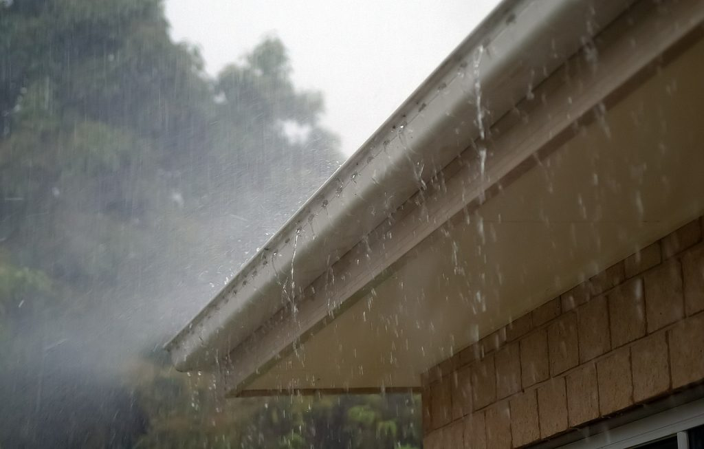 start your fall cleanup by cleaning your eavestroughs.