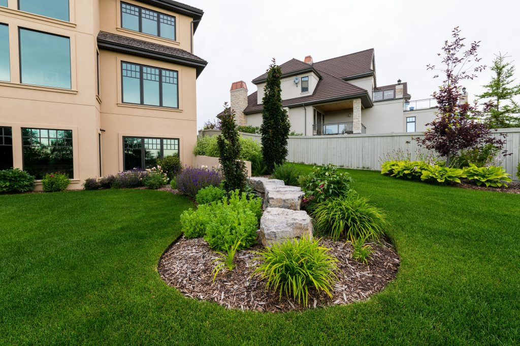 Cameron Heights landscape design by Jason Stubbs of Salisbury Landscaping