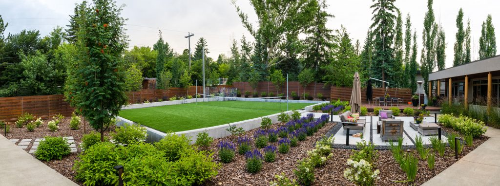 Laurier Park Landscape Design by Jason Stubbs of Salisbury Landscaping