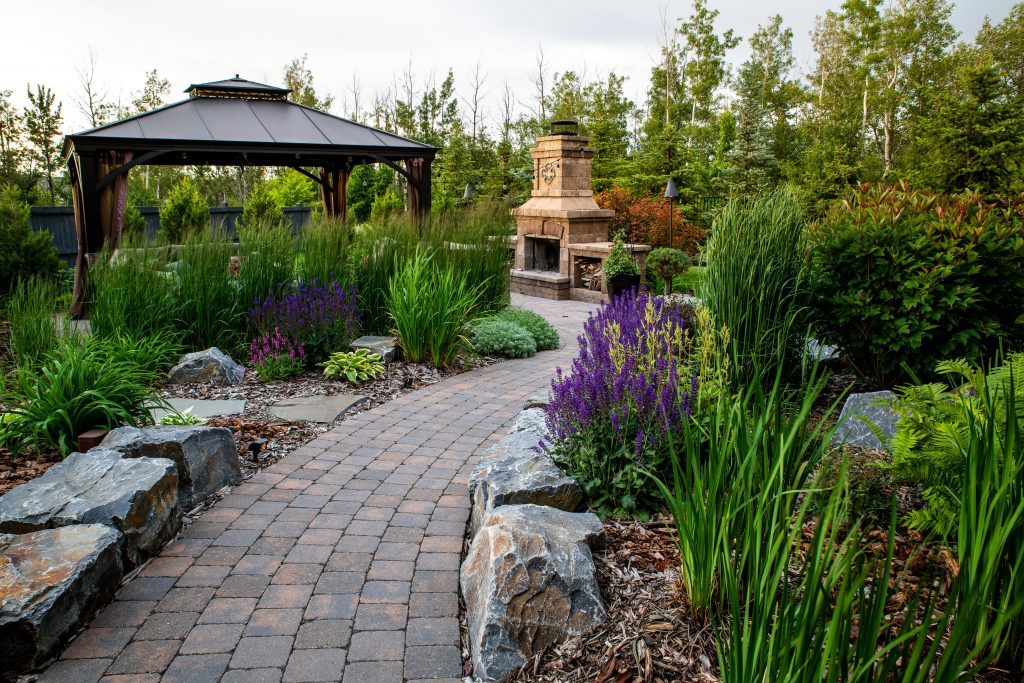 A major benefit of designing in the fall is there's simply more time to enjoy your landscape come spring