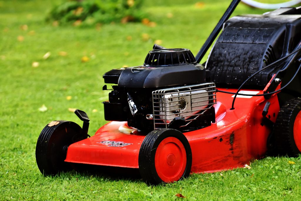 Give your lawn a final mow
