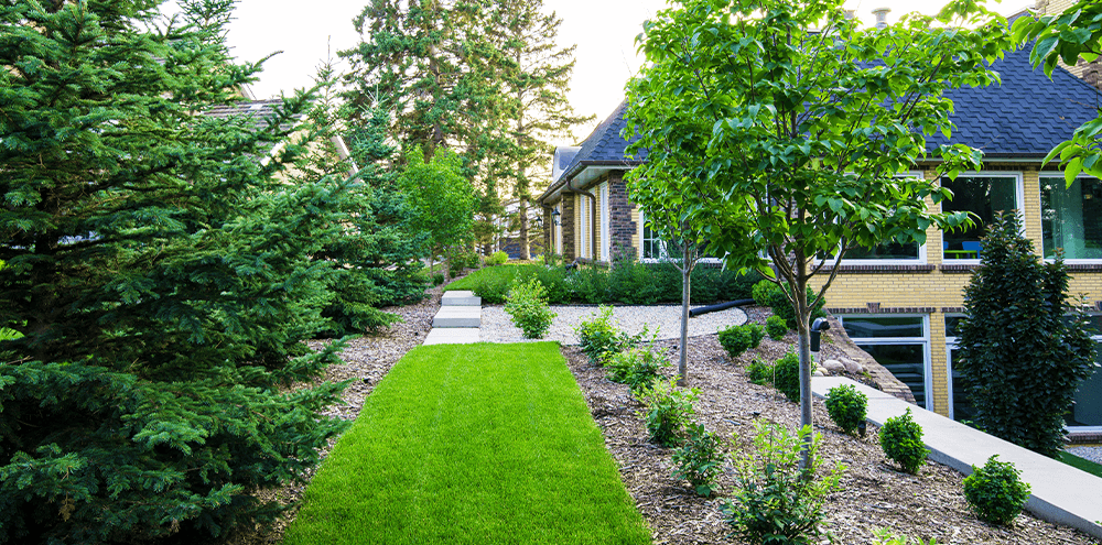 traditional landscaping